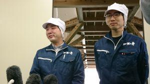 加賀の井酒造感動の復活初しぼり!