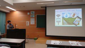 長岡高専で農業へのロボット導入を研修!