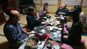 韓国国営テレビKBS取材(農家の米尽くし晩御飯編)